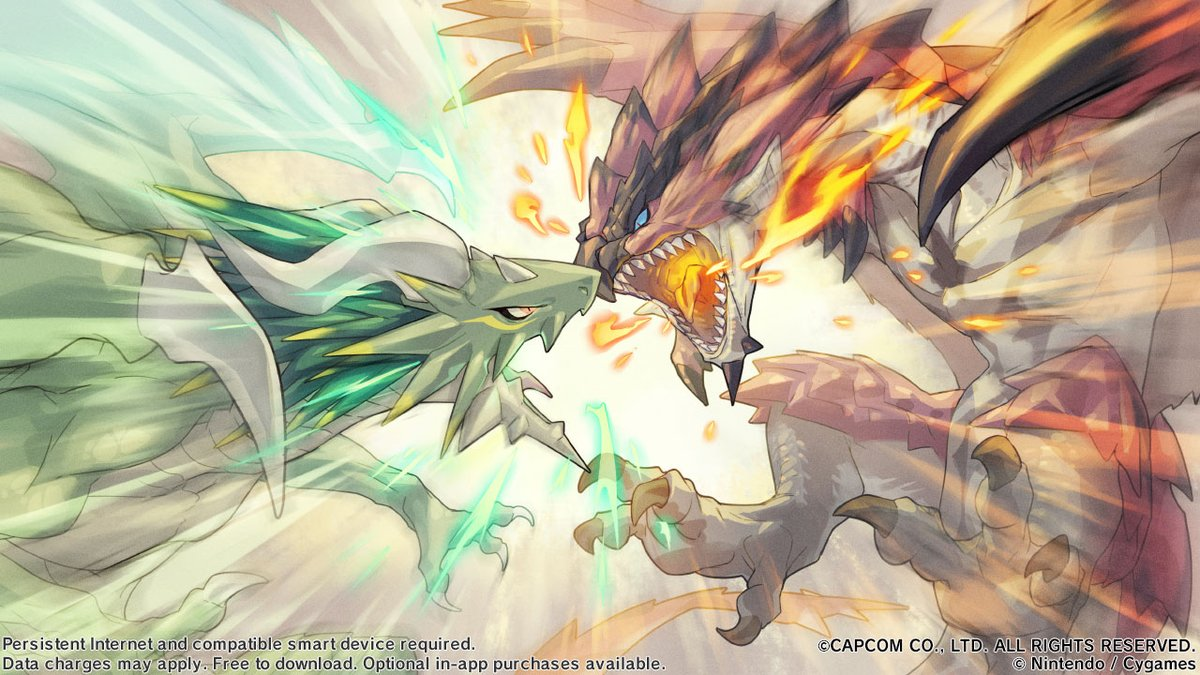 The #MonsterHunter PRIMAL CRISIS event started Jan. 28, 10 PM PT. You can use the blazons obtained as event rewards to perform blazon summons and add the 5★ dragon Rathalos to your team! See the following notification for more info.  #DragaliaLost