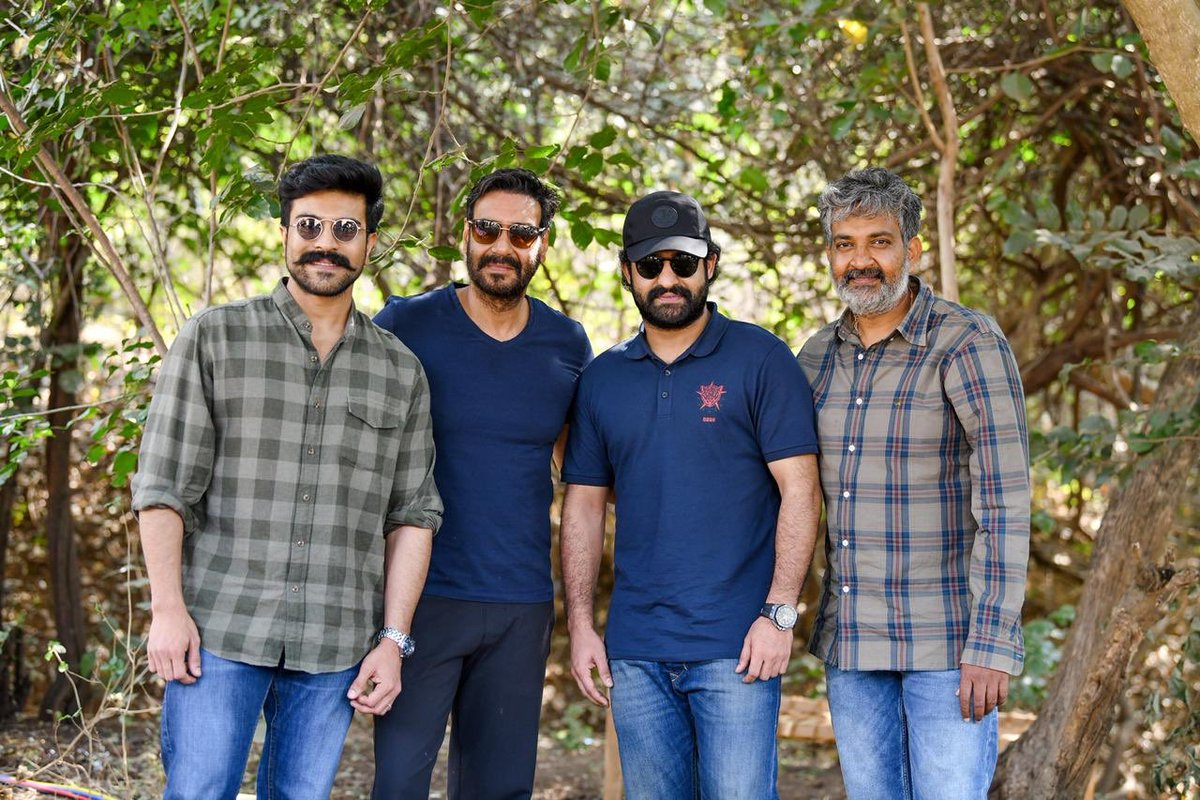 Delighted to welcome you to the world of #RRR dear @ajaydevgn sir