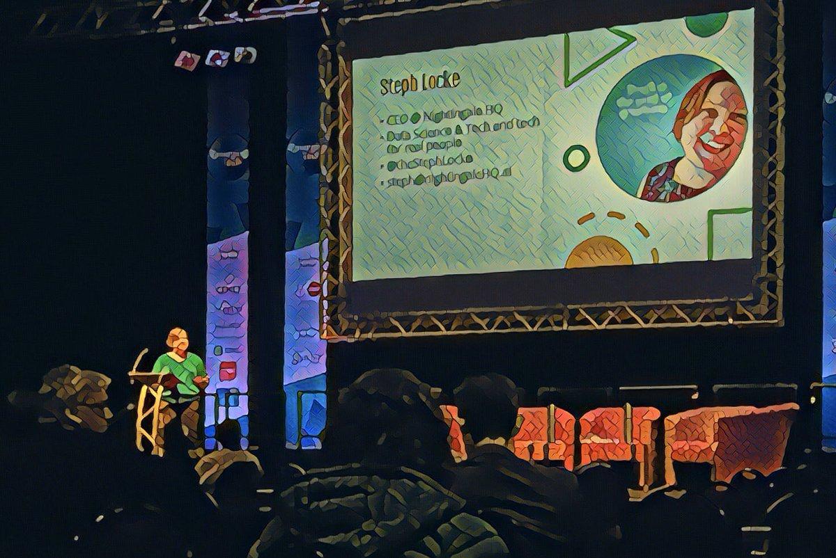 test Twitter Media - The brilliant @TheStephLocke on the historian and AI - great insights on alerts from AI #EmergingTechFest @nightingalehqai @BetsiCadwaladr @innovateuk @TheESTnet #AI #ArtificialIntelligence #sensors @lshubwales https://t.co/tilmvSVESF