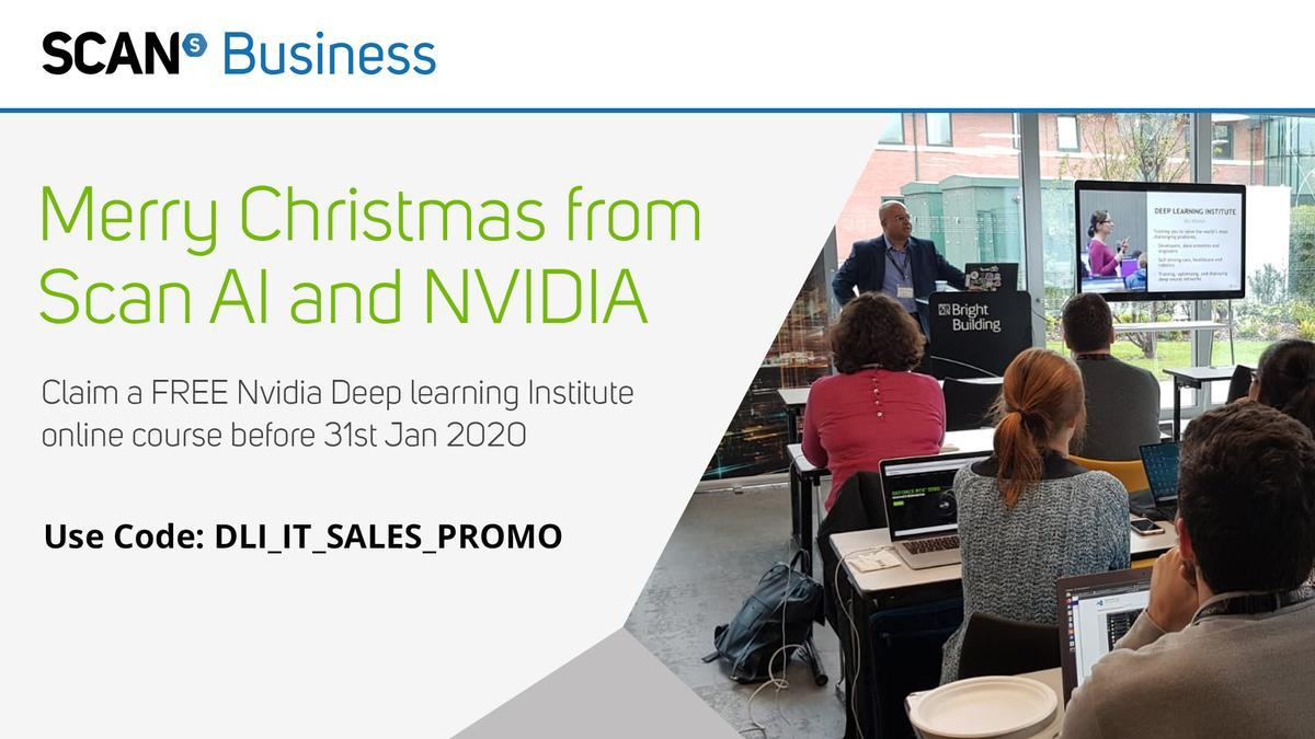 test Twitter Media - #LastChance to claim a #FREE @nvidia Deep Learning Institute online course all about using #AI in the #DataCenter. Offer ends 31st January 2020:  Claim here with code: DLI_IT_SALES_PROMO - https://t.co/kEtdheiCw7  #ScanComputers #NVIDIA #DLI #DeepLearning #ArtificialInteligence https://t.co/mbMQi5sASp