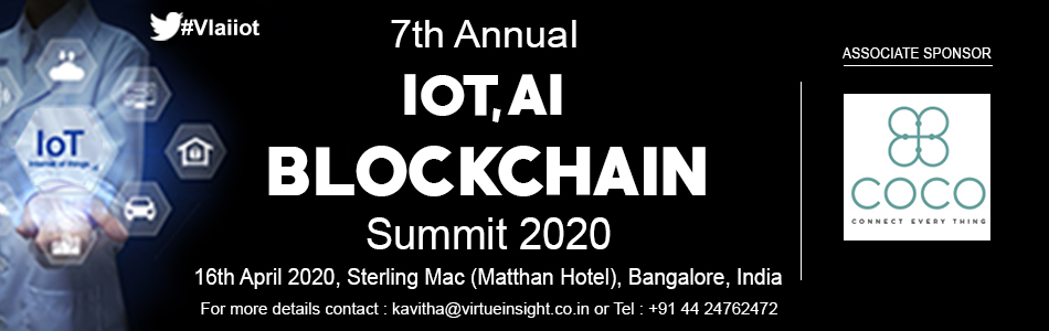 test Twitter Media - #VIaiiot We are glad to announce our new ASSOCIATE SPONSOR COCO for our 7th Annual IoT, AI & Blockchain Summit 2020 https://t.co/h8GKcQ86CR  @ElearSolutions  #IoT #InternetofThings #AI #Artificialintelligence #EmbeddedSystems #Technology #cybersecurity #MachineLearning https://t.co/nkunis2RgQ