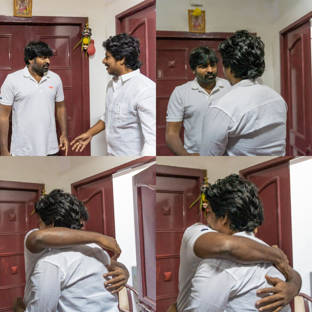 This man is so Magical & Divine ❤️.  If everyone possess the vibe which he carries, the world would definitely be a better place.  #inspired #MakkalSelvan #VijaySethupathy ❤️
