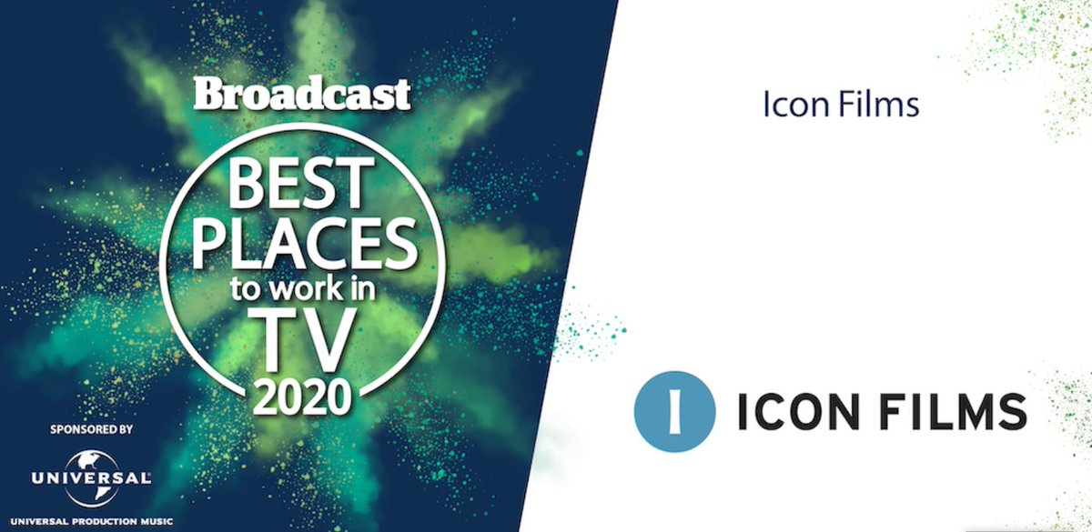 For the fifth consecutive year we've been named as one of @Broadcastnow's Best Places to Work in TV 🎆 We can't wait to share more of our wellbeing efforts with you all throughout 2020 #BroadcastBPTW https://t.co/9fPpbEUa8M
