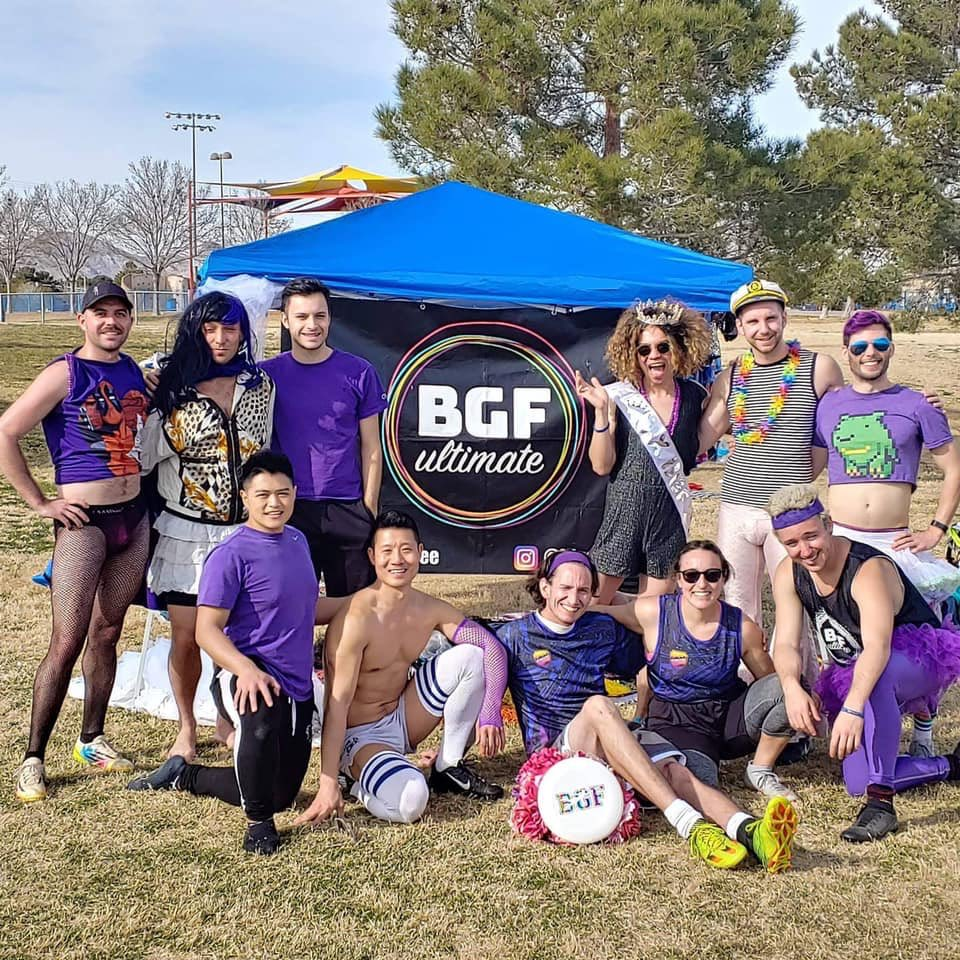 Congrats to the @biggayfrisbee #UltimateFrisbee #SinCityClassic Champions: Cosmopolitens Tens Tens Across the Board! 🏆   See you in 2021!