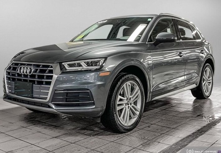 Game Changing Style: Own this Certified Pre-Owned 2019 Audi Q5 2.0 T Premium Plus SUV with leather upholstery, heated seats and more. 🚗 🚙 🚗  #GameChanger #audinatickhttp://ow.ly/qgjO50y8j5S https://t.co/DUolZXS89R