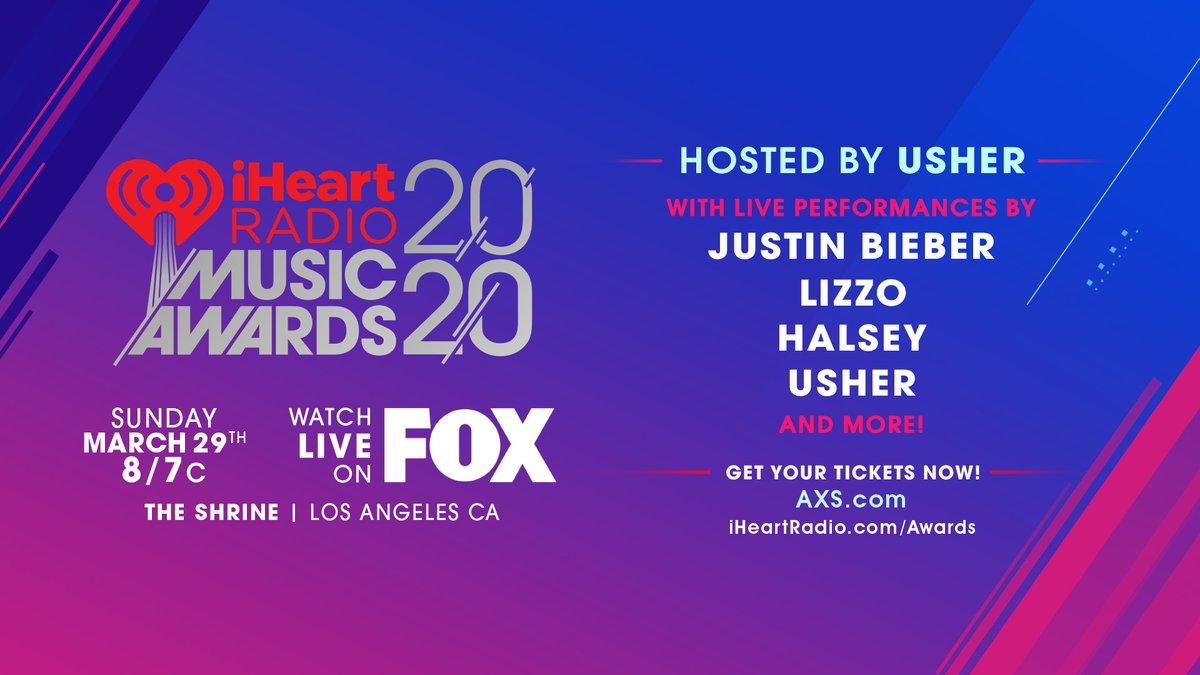 Excited to announce I'll be hosting and performing at this year's @iHeartRadio Music Awards! 🙏🏾 Tickets avail at