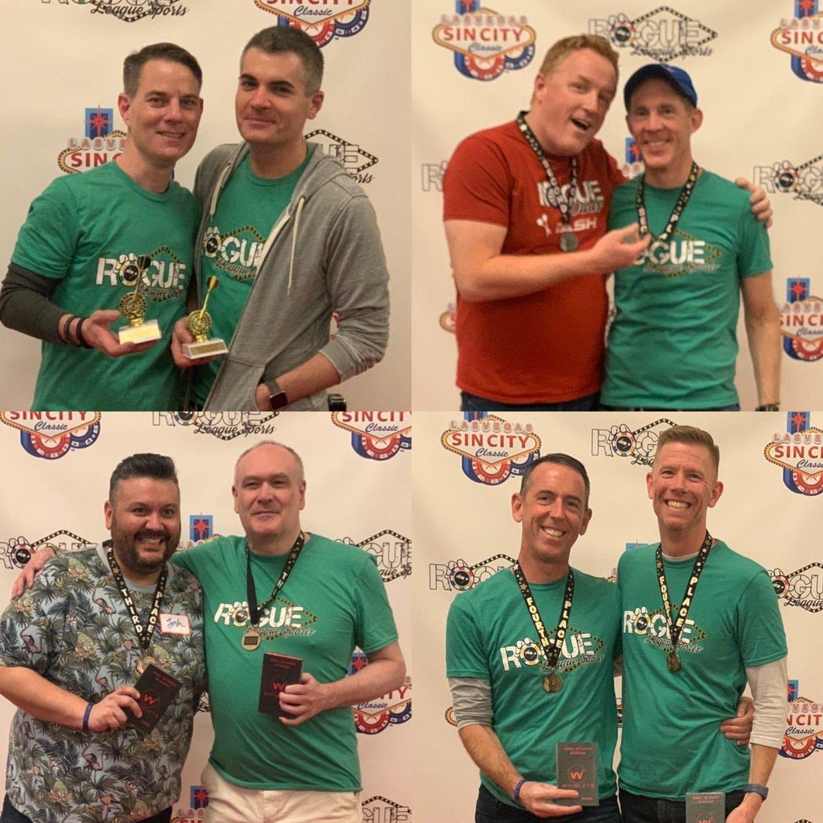 Congrats to the first ever #SinCityClassic Steel-Tip #Darts top 4️⃣ teams! 🎯   Fantastic job @RogueDarts! 👏
