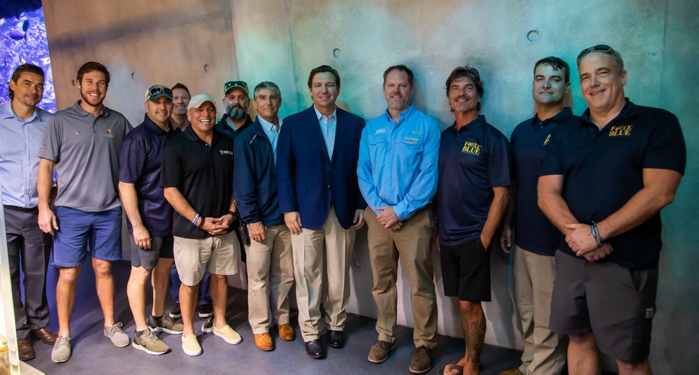 Today, I'm excited to help kickoff 100 Yards of Hope, a project by the veterans of @forceblueteam to plant 100 yards of coral while honoring the @NFL's 100th season. I'm also proud to announce a new initiative to promote awareness and protection of Florida's Coral Reef ecosystem.