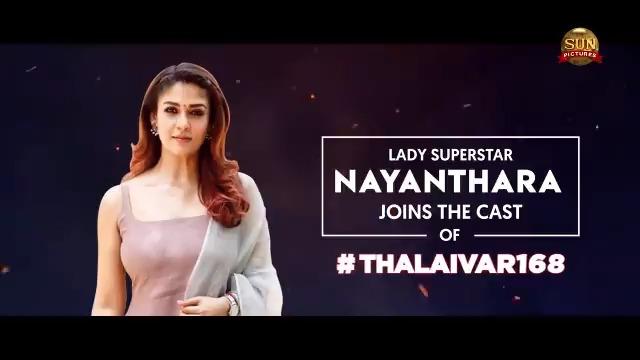 Lady Superstar #Nayanthara joins the cast of #Thalaivar168  @rajinikanth @directorsiva