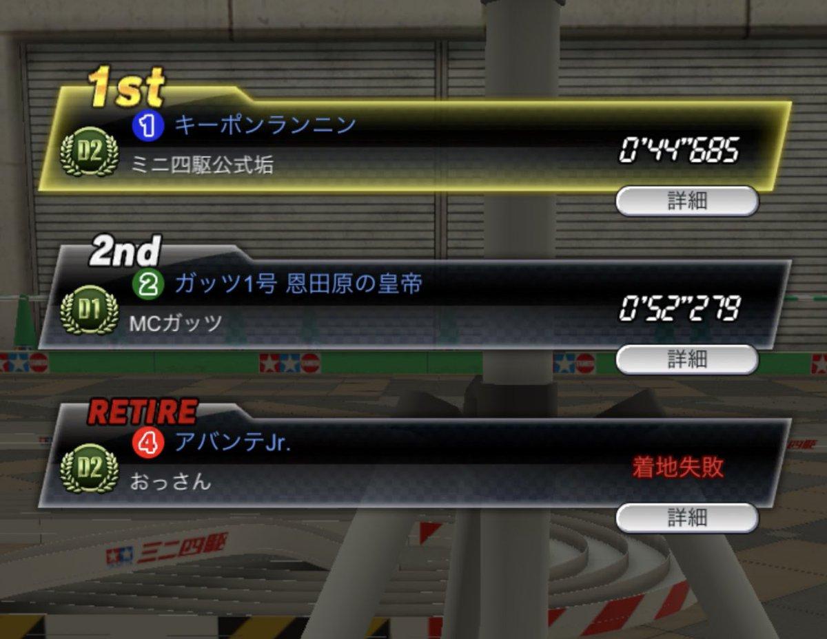 四 超速 速報 駆 ミニ グランプリ