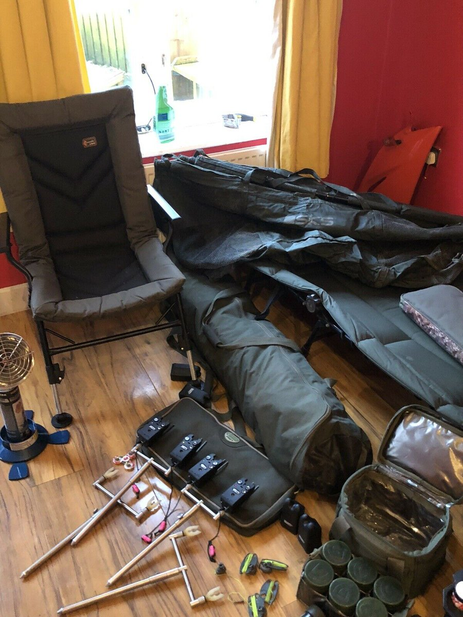 Ad - Carp fishing <b>Set</b> up for sale On eBay here -->> https://t.co/U3qI8wHKHE  #carpfishi
