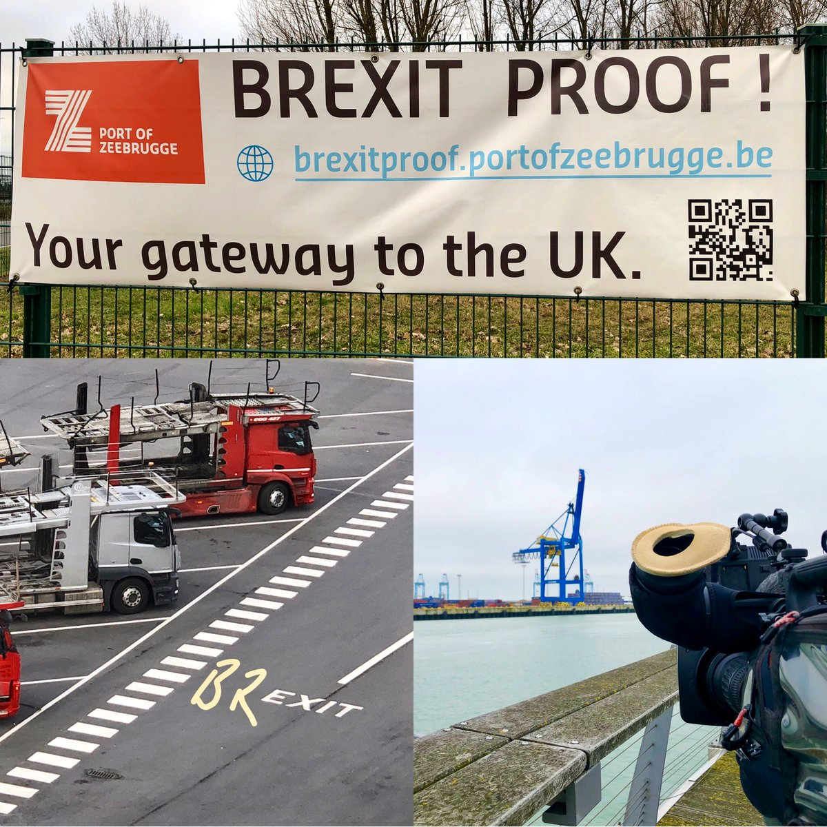 test Twitter Media - On @itvcalendar tonight at 6, we've been filming with @JonnyBrownYorks for a special report and Live from the port of #Zeebrugge on how #Brexit will effect their trade with the UK. Via @LiveU https://t.co/YCNq7lOpJI