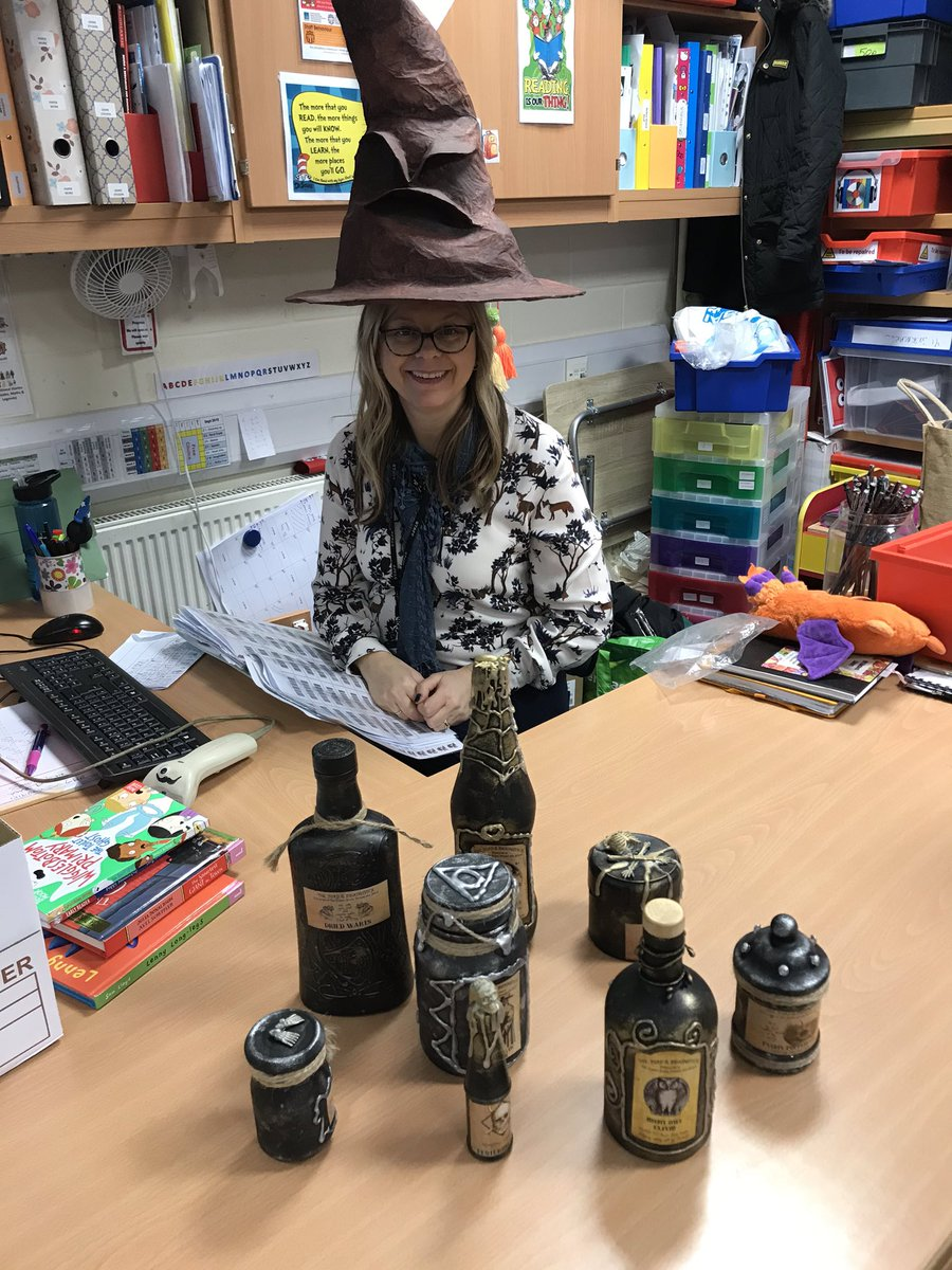 test Twitter Media - Mrs Haddock is all ready for Harry Potter week - starting on Monday. https://t.co/MVON8ytuwg
