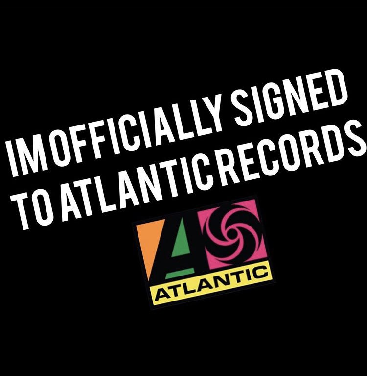 I've turned down deals and I've also been turned down. Whether it was just not enough money or the labels wanting me to leave my label behind. If disloyalty is the price of fortune and fame I'm good on it. #LOYAL100 #JUCEEFROOT THANK YOU @atlanticrecords FOR BELIEVING IN ME