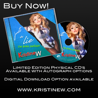 You can still get your limited edition copy of Just a Lie - The Remix Package! 💕 There are so many amazing remixes in here from talented DJs and producers. If you head over to  you can even get yours autographed 😘  #KristineW #JustALie #dancemusic