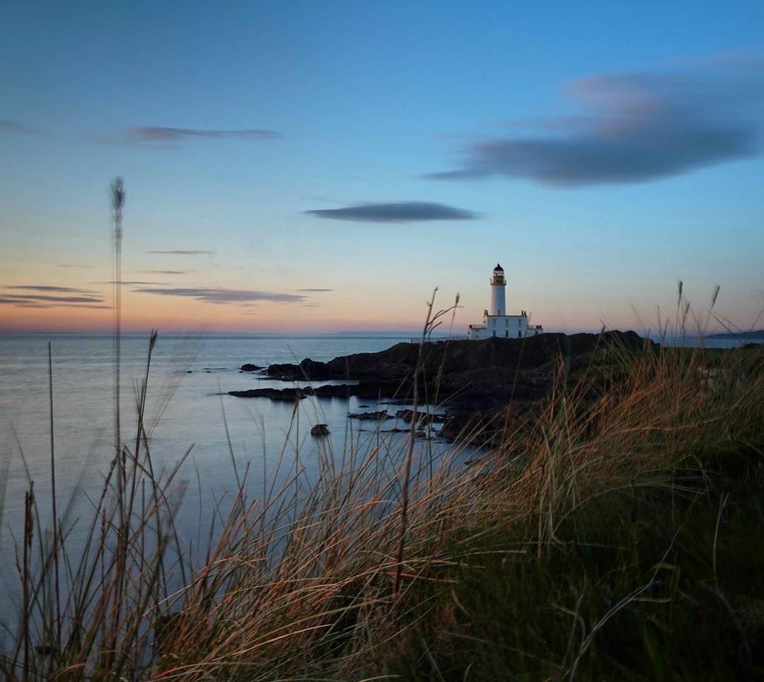 Another amazing shot from @TrumpTurnberry #Scotland #golf #trump #sucess #neversettle #luxuryhotel #luxury #lighthouse