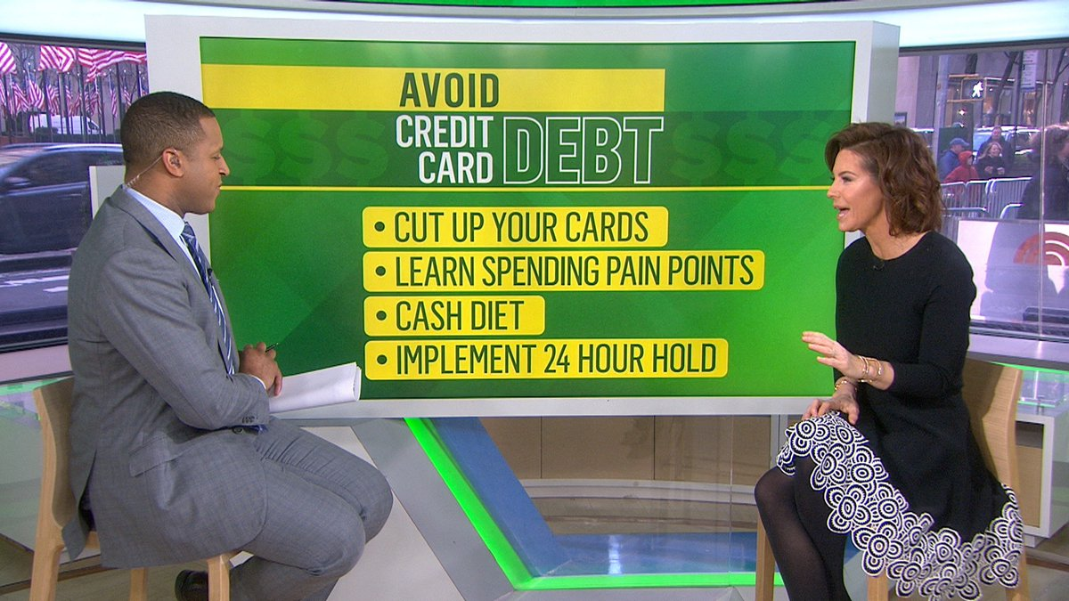 Have credit card debt? @SRuhle shares tips on how to pay it off easier and faster.