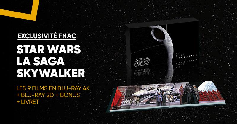 💥 Exclu Fnac: Retrouvez la saga Skywalker @starwars en Blu-Ray 4K + Blu-Ray 2D, Bonus et livret ! 😏 >