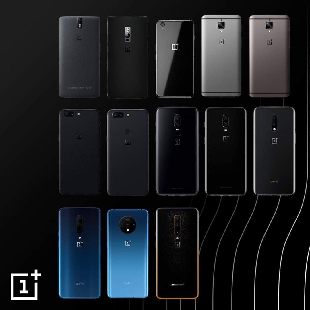 Pick one. اختر واحدة  یەکیان هەڵبژێرە #oneplus #OnePlusIraq #neversettle