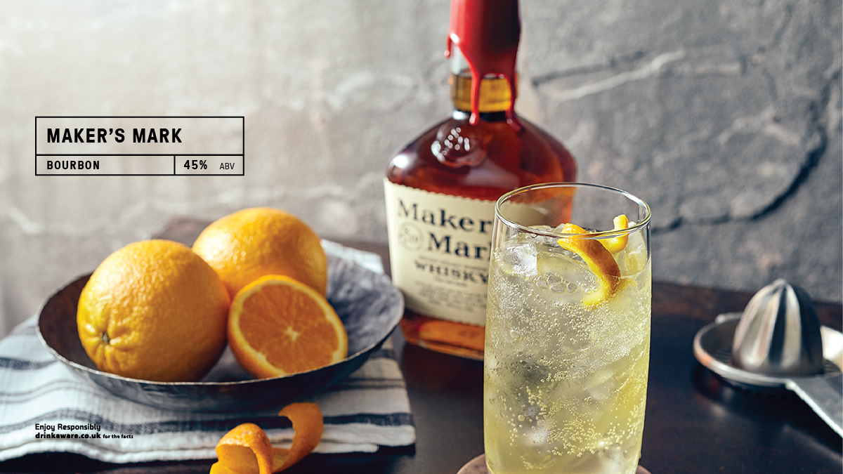 Never bitter or sharp, @MakersMark is made with soft red winter wheat, instead of the usual rye, for a one-of-a-kind, full-flavored bourbon that's easy to drink. #whisky #highball  Read more here https://t.co/aN7ssAWdWN https://t.co/RLuh8hktg5