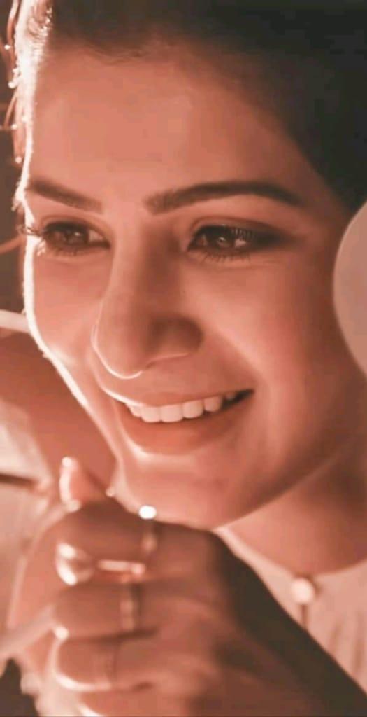 My Darling Smile Is The World's Bestestt Smile 😘😘😘 Sammu Darling Love uuhh Queen  My Love @Samanthaprabhu2  My Darling My Queen My Angel My 🤴 Love Love Love Love So Much Darling 😘❤️ Sammu Darling 😘❤️❤️  #KaathuVaakulaRenduKaadhal