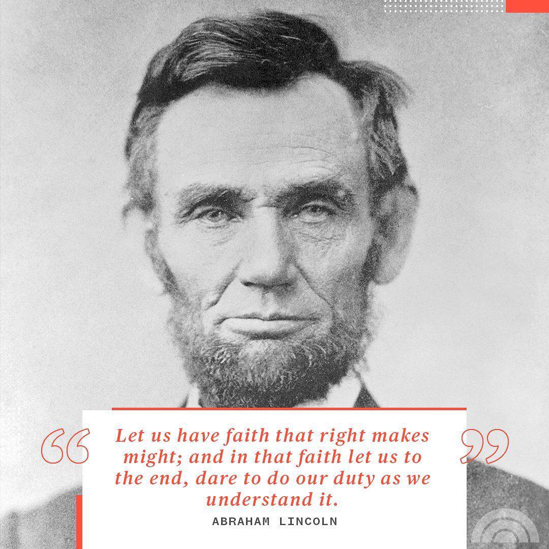 In honor of #PresidentsDay, here is a memorable quote from one of our great leaders.