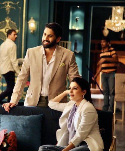 #ChaySam Super Power Couple  💪💪💪💪💪 Love uhh both of uhh #ChaySam  @chay_akkineni  @Samanthaprabhu2   Sammu Darling 😘❤️  #KaathuVaakulaRenduKaadhal  Thalaivi 💪