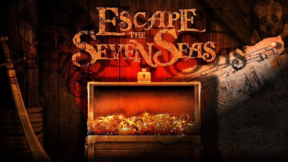Just 4 weeks left to play Escape the Seven Seas!                                             #escapepaignton #escaperoom #escape #puzzle #teamwork #family #holiday #dayout #paignton #devon #BoostTorbay