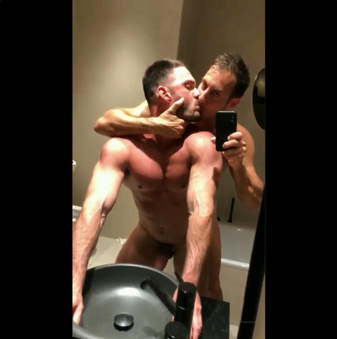 Mirror mirror on the wall, who's the hottest of them all?  #gay #sex #orgy #fuck #fucking #bareback #bathroombreak #bathroomcum #raw #gayporn #anal #cuminside #muscle #jock #lockdownextension #Quarantine #QuarantineLife #COVID #Covid_19