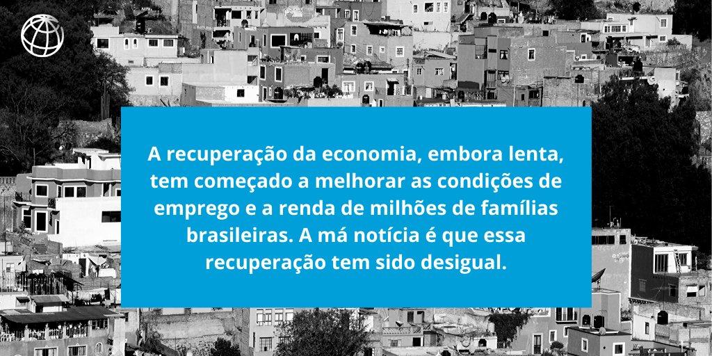 No Brasil, os mais pobres ainda não foram beneficiados pela recuperação da economia. O que é possível fazer para apoiá-los? Nossa equipe escreveu sobre o assunto para a @folha: