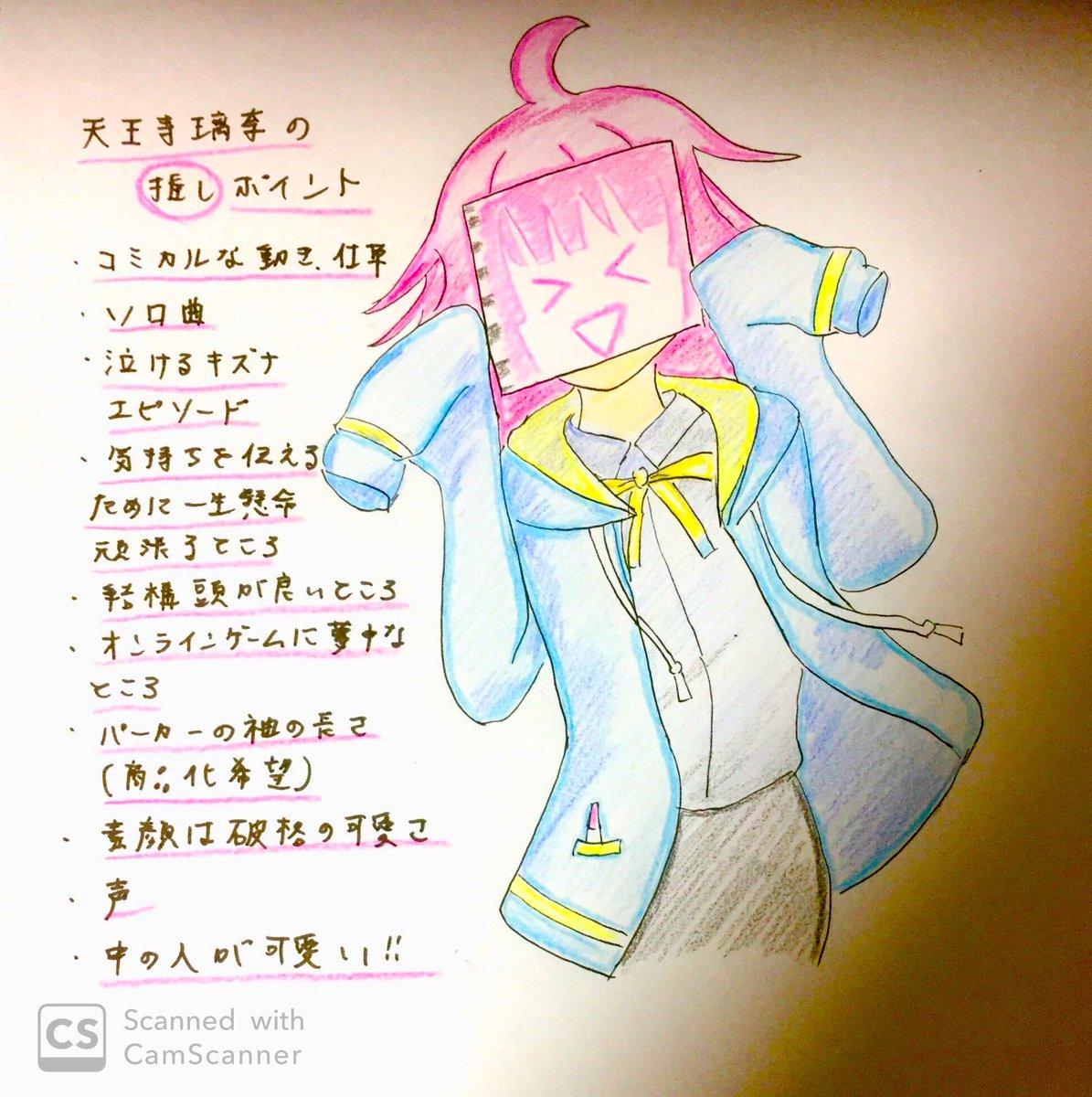 俺の天王寺璃奈を見てくれ!!!  とりあえずここ最近感じている璃奈ちゃんの推しポイントを書き綴ってみました。まあ全部って言ってもいいんですけどね👍  #虹ヶ咲