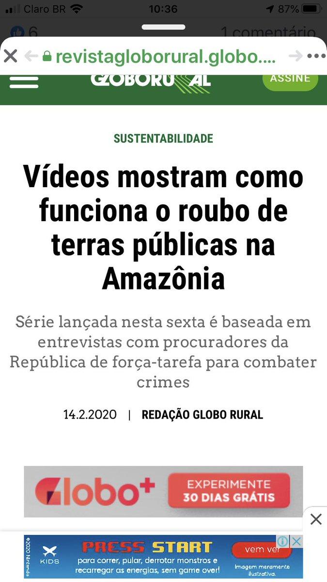 Trabalho do Ministério Público Federal na região amazônica: