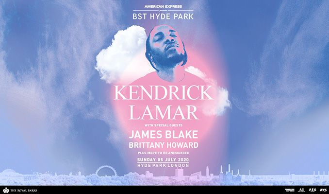 Catch the iconic @kendricklamar in his ELEMENT at @BSTHydePark this summer with special guests @jamesblake x @blkfootwhtfoot & more!🌤️💗  Not to be missed 👉
