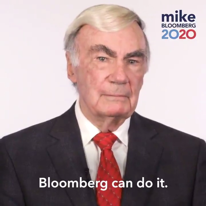 Legendary journalist Sam Donaldson knows Mike has what it takes to take on Trump and beat him. Sam covered campaigns for 52 years, and this is the first time he's endorsed anyone. Welcome to #TeamBloomberg!