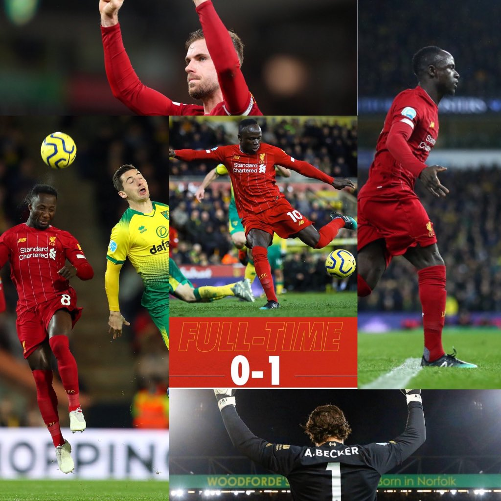 Another clean sheet victory for Liverpool. Undefeated in 43 Premier League matches, this remarkable season keeps going. #NORLIV https://t.co/q7lo6lEZUM