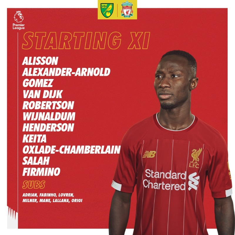 Squad locked 🔒  Let's rock and roll 💪  #NORLIV https://t.co/XBOqHJHYHY
