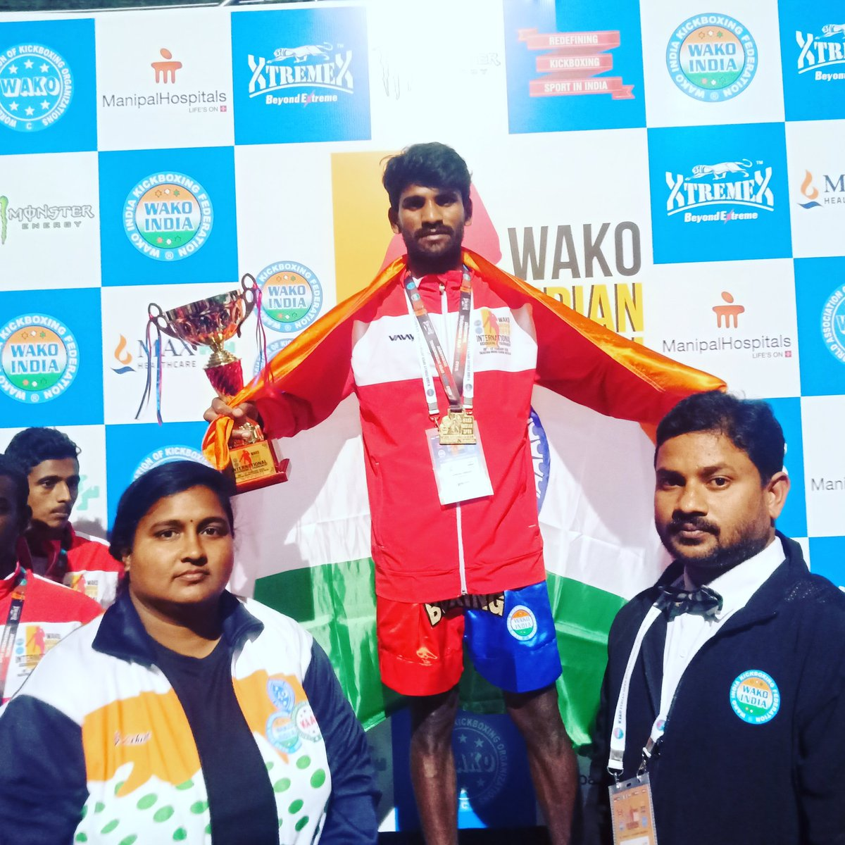 WAKO INDIAN OPEN INTERNATIONAL KICKBOXING CHAMPIONSHIP 2020🇮🇳🇮🇳🇮🇳 New Delhi,, Thanks you VDK sir #VijayDeverakonda, without your sponsorship and support I never got tthis achievement Thanks you so much VDK your the real HERO😍😍😍😍😍😍