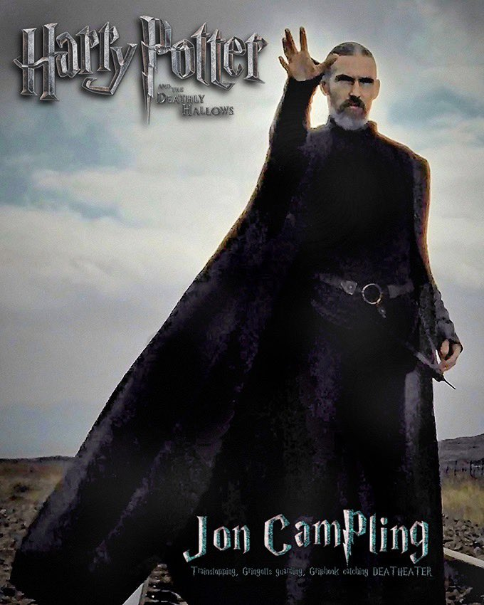 Jon Campling will be coming to For the Love of Fantasy! You can meet him this August 1st & 2nd @edinburghacad  Tickets:-   #deatheater #harrypotteredinburgh #theschoolofwitchcraftandwizardry