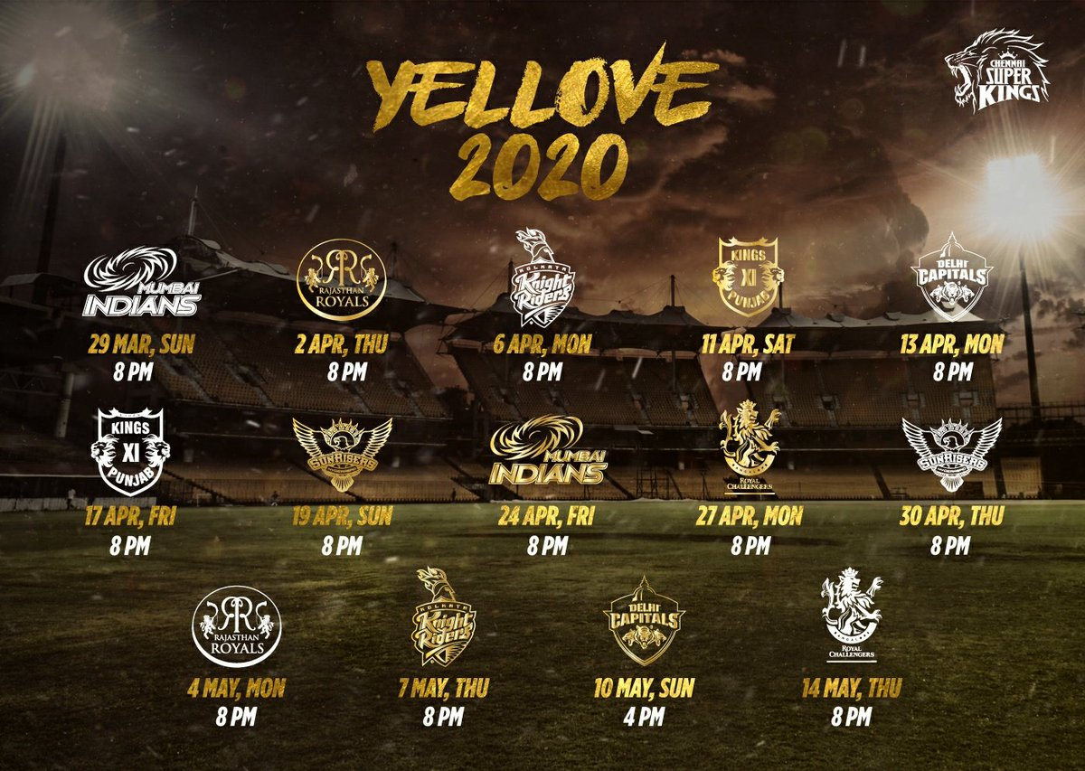 As the AnbuDen dates join to form a W, let's just #WhistlePodu! #Yellove2020 🦁💛