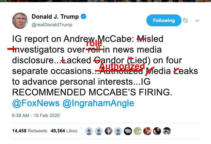 "@realDonaldTrump @FoxNews @IngrahamAngle What an idiot.  1) You are not a king. 2) It's ""role"", not ""roll"". 3) It's ""authorized"", not ""authotized"". 4) Resign, you syphilitic chode.  #amjoy #saturdaymorning #saturdaythoughts"