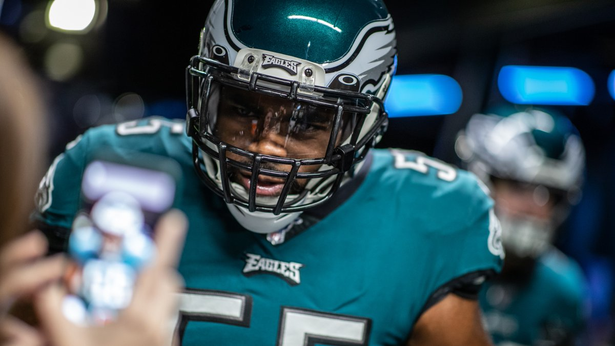 Ladies and gentlemen, the one and only @brandongraham55.  #FlyEaglesFly