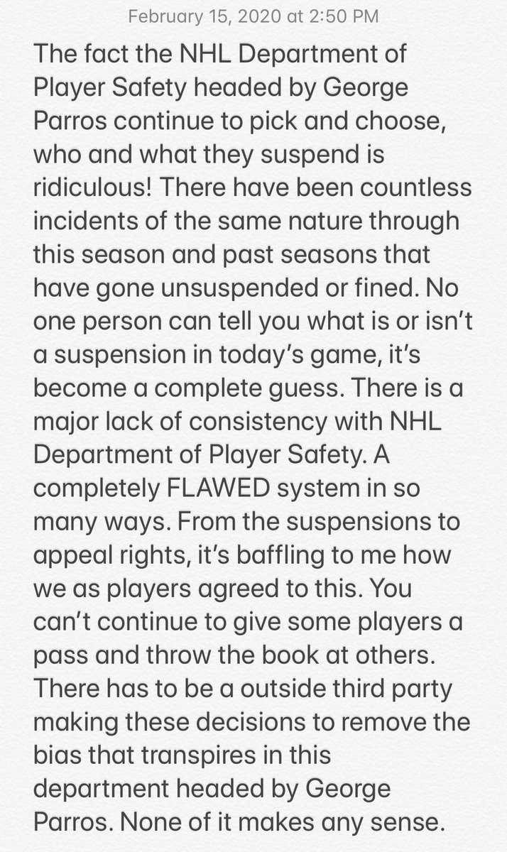 Evander Kane Rips NHL
