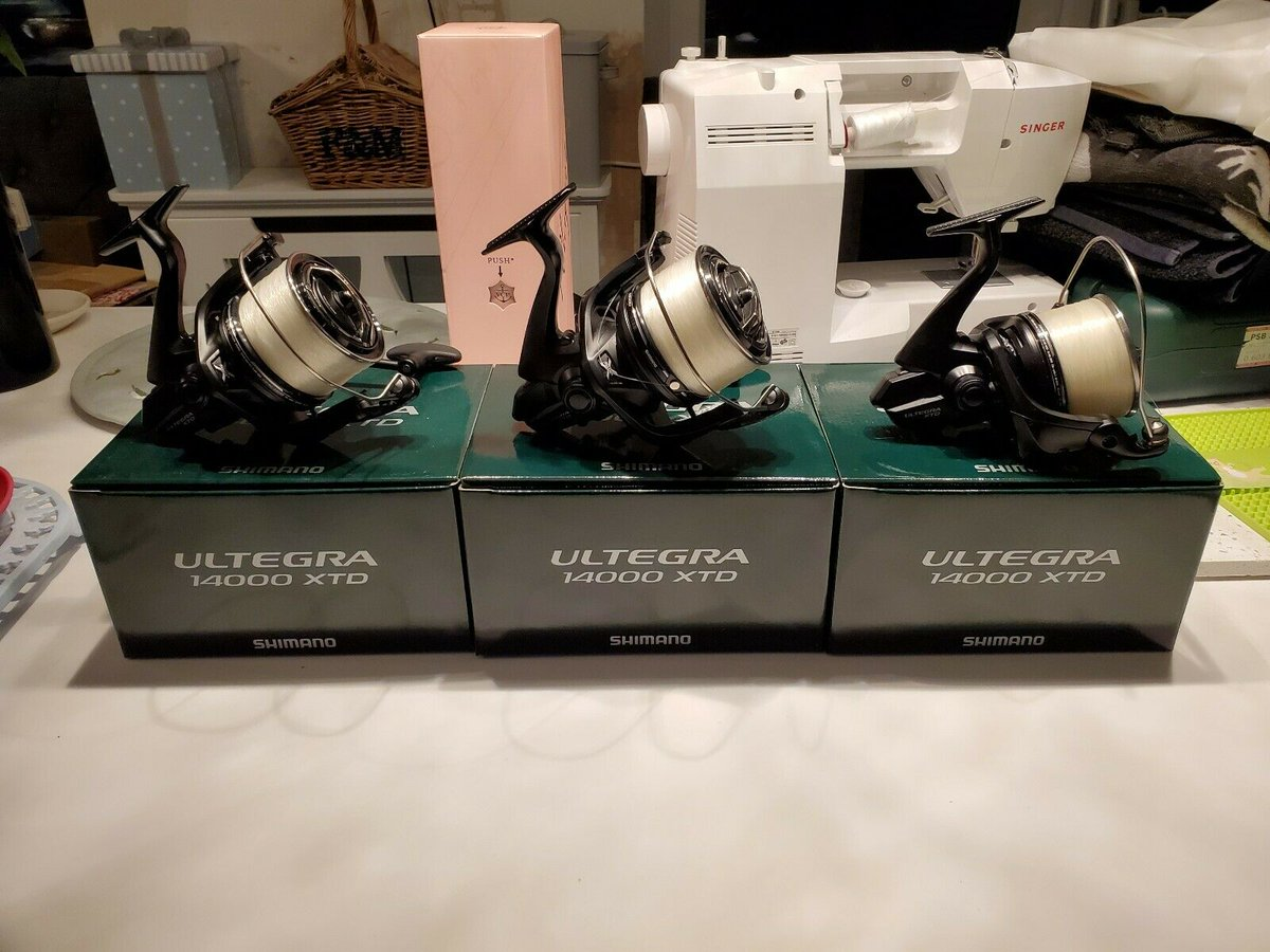 Ad - Shimano Ultegra 14000 XTD reels x3 On eBay here -->> https://t.co/AMaUuCUx7w  #carpfishin