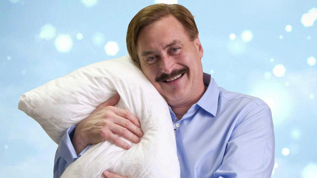 There is only one man fit to fill Trump's shoes in 2024, and only one man who can unite America.   That man is Mike Lindell from the My Pillow commercials. He'll give you the best night sleep in the whole wide world.