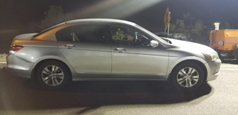 Yuma Sector Border Patrol agents recovered a stolen vehicle Sunday at the I-8 immigration checkpoint, arresting 2 U.S. citizens.