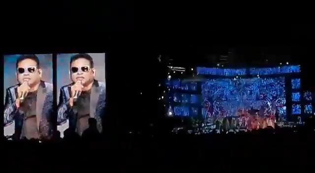 #IsaiPuyal @arrahman singing #Verithanam Song😍   புல்லைங்கோ இருக்காங்க வேற இன்னா வோனும் 😎🔥🔥   @ActorVijay @Atlee_dir @archanakalpathi @Lyricist_Vivek @Ags_production @MasterOfficiaI @BigilTamilMovie #Bigil