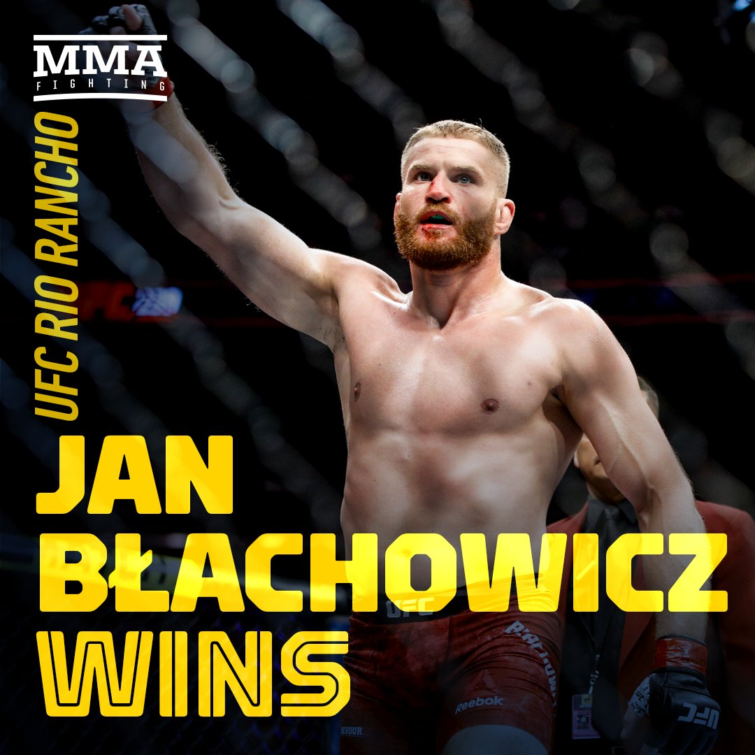 Błachowicz Upsets Anderson 👀