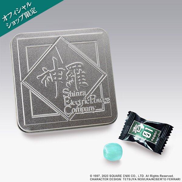 【#sqex_cafe】 スクエニカフェより完売商品のお知らせです。   ・ファイナルファンタジーVII リメイク 魔晄キャンディ  ※再入荷未定