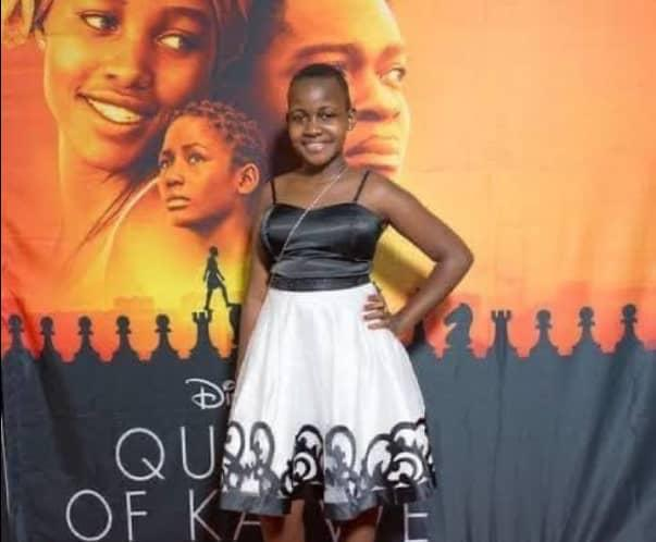 Nikita Pearl Waligwa who starred as Gloria in 'Queen of Katwe' has passed away this morning. She had been battling a tumour for about 3 years.   #NBSUpdates