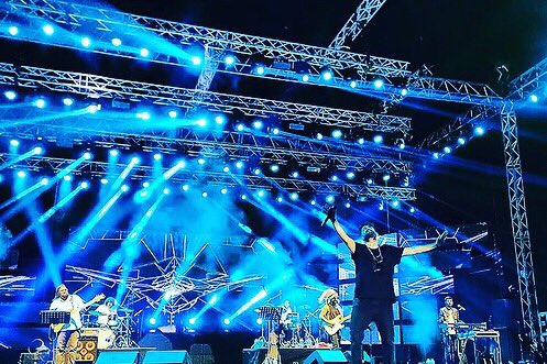 @sidsriram what an energy pack performance 🤟🏻take a bow  #mymusicmycountry #hyderabadtalkies